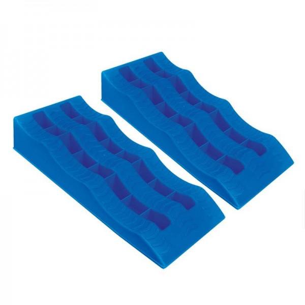 Ausgleichskeil blau Set von 2 Stück