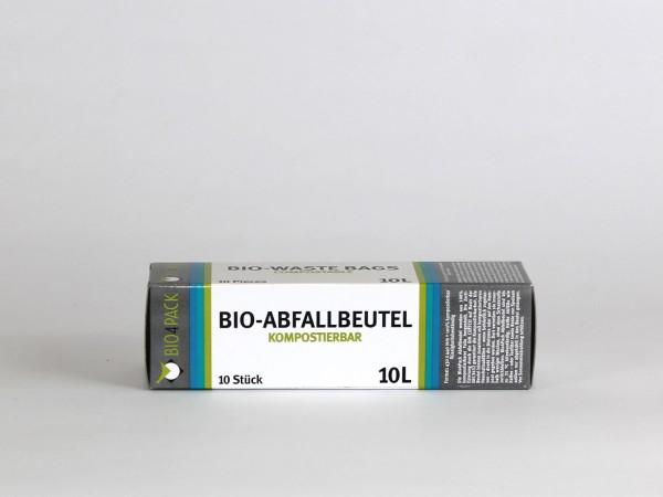 Bio4Pack Abfallbeutel 100% kompostierbar, 10 Liter günstig kaufen bei ammovit-camping.de