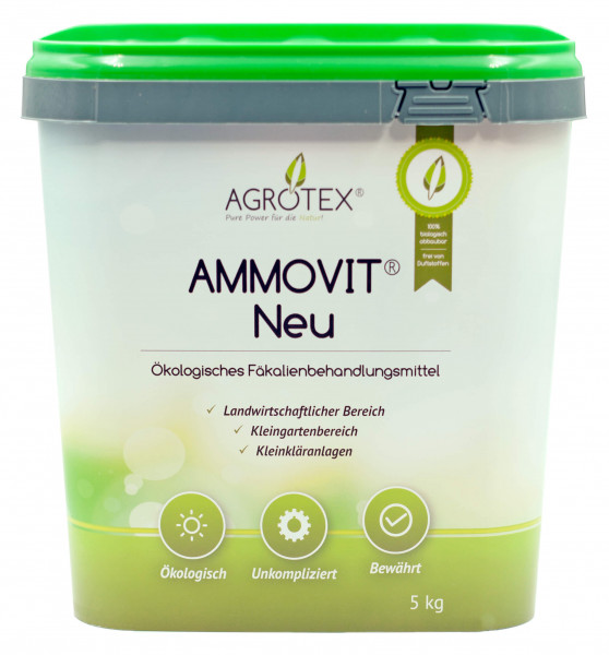 AMMOVIT NEU 5 kg Eimer | Neues Design!