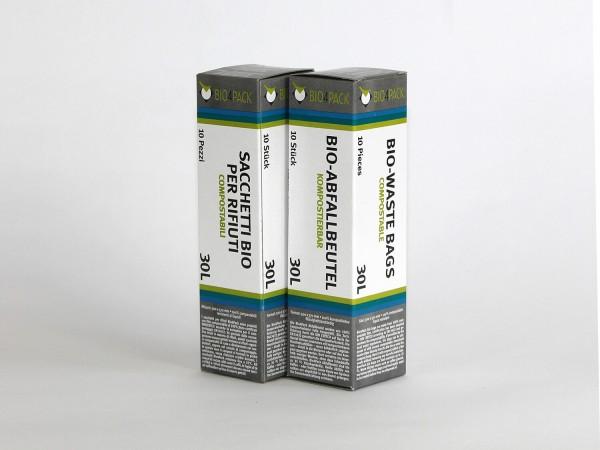 Bio4Pack Abfallbeutel 100% kompostierbar, 30 Liter günstig kaufen bei ammovit-camping.de